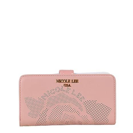 Nicole Lee P6424 - Cartera para mujer rosa rosa
