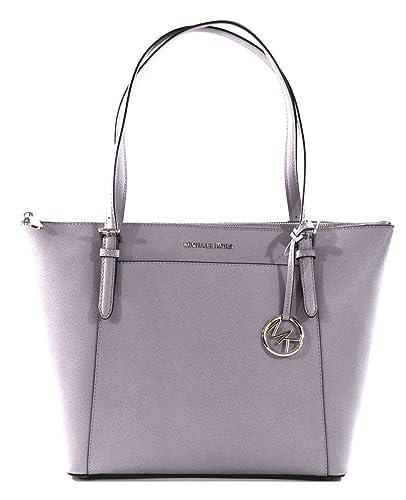 c46800707 Michael Kors Ciara Large East West Top Zip Saffiano Leather Tote Bag Purse  Handbag, (