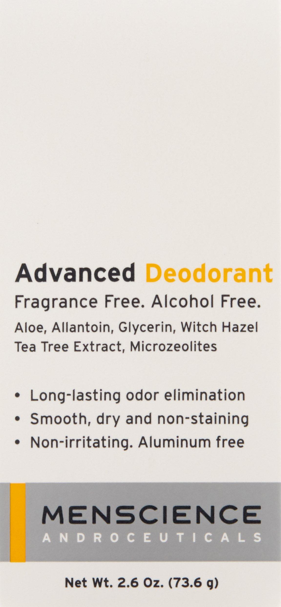MenScience Androceuticals Advanced Deodorant, 2.6 oz. by MenScience Androceuticals (Image #3)