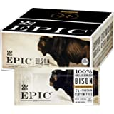 EPIC Bison Bacon Cranberry Bars, Grass-Fed, Paleo Friendly, 12 Ct Box 1.3oz bars