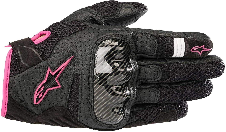 BLACK FUCHSIA SMALL Alpinestars Womens Stella SMX-1 Air V2 Gloves