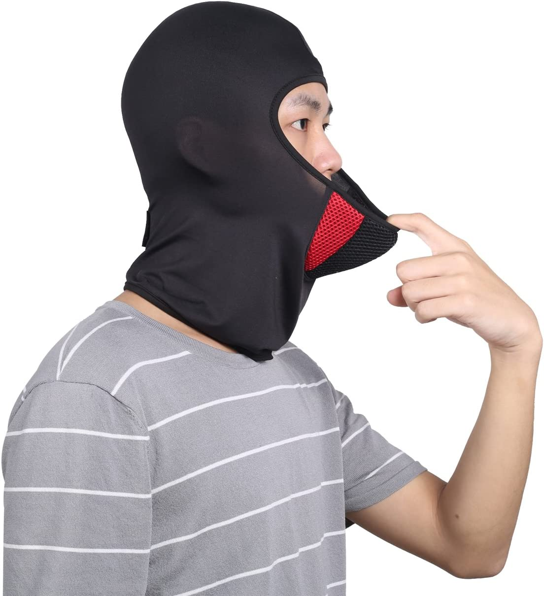 Balaclava Hiking Motorcycle breathable Outdoor Multifunctional Summer Windproof Full Face Mask for Cycling