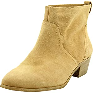 Sole Society Carson Women US 5.5 Tan Ankle Boot