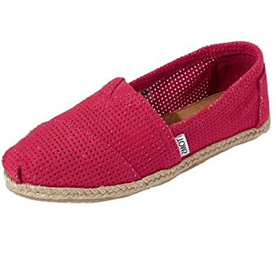 a0c8cdd97db Toms Classic Freetown Espadrills Pumps-Fuchsia-UK3: Amazon.co.uk ...