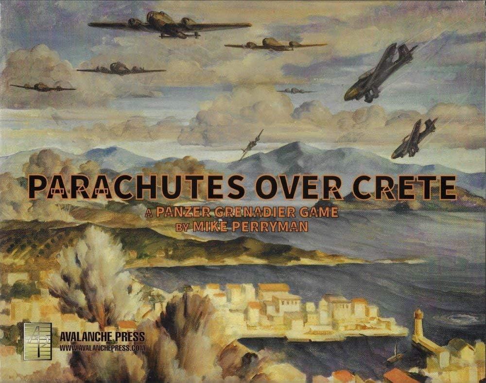 Tactical Wargame Panzer Grenadier: Parachutes Over Crete: Amazon.es: Juguetes y juegos
