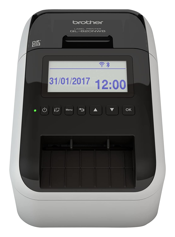Brother QL-820NWB Label Printer   Address Labeller   Wireless, PC ...