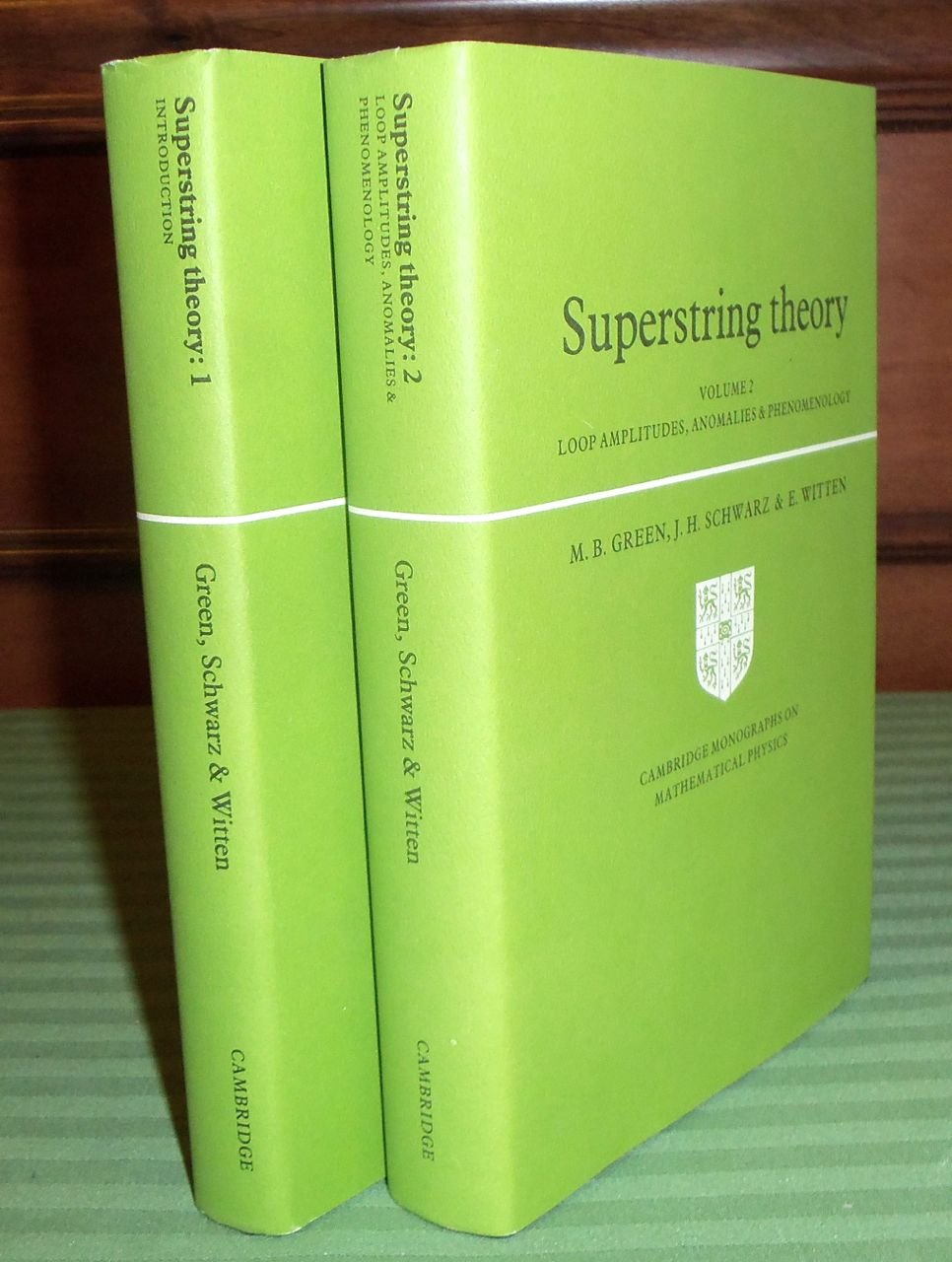 Superstring Theory: Volume 2, Loop Amplitudes, Anomalies and Phenomenology:  Loop Amplitudes, Anomalies and Phenomenology v. 2 (Cambridge Monographs on  ...