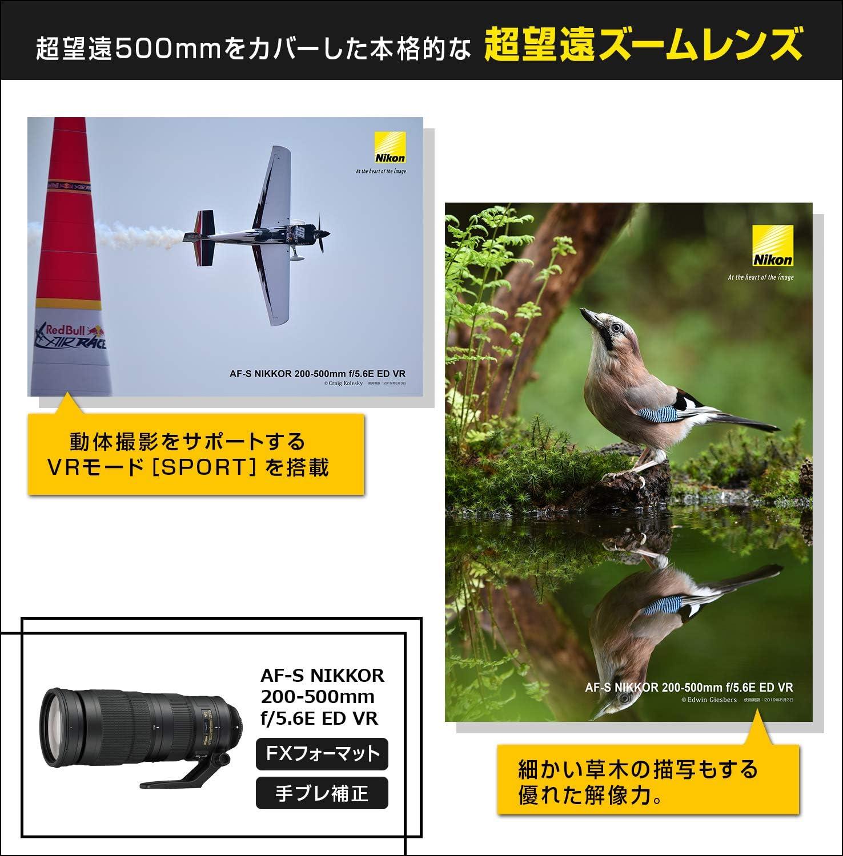 Nikon 200 500 Mm F 5 6 Af S Nikkor E Ed Vr Ziele Kamera