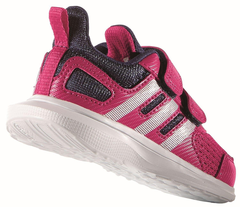 Adidas Hyperfast 2.0 CF I - Zapatillas Unisex, Color Rosa/Morado/Blanco, Talla 23