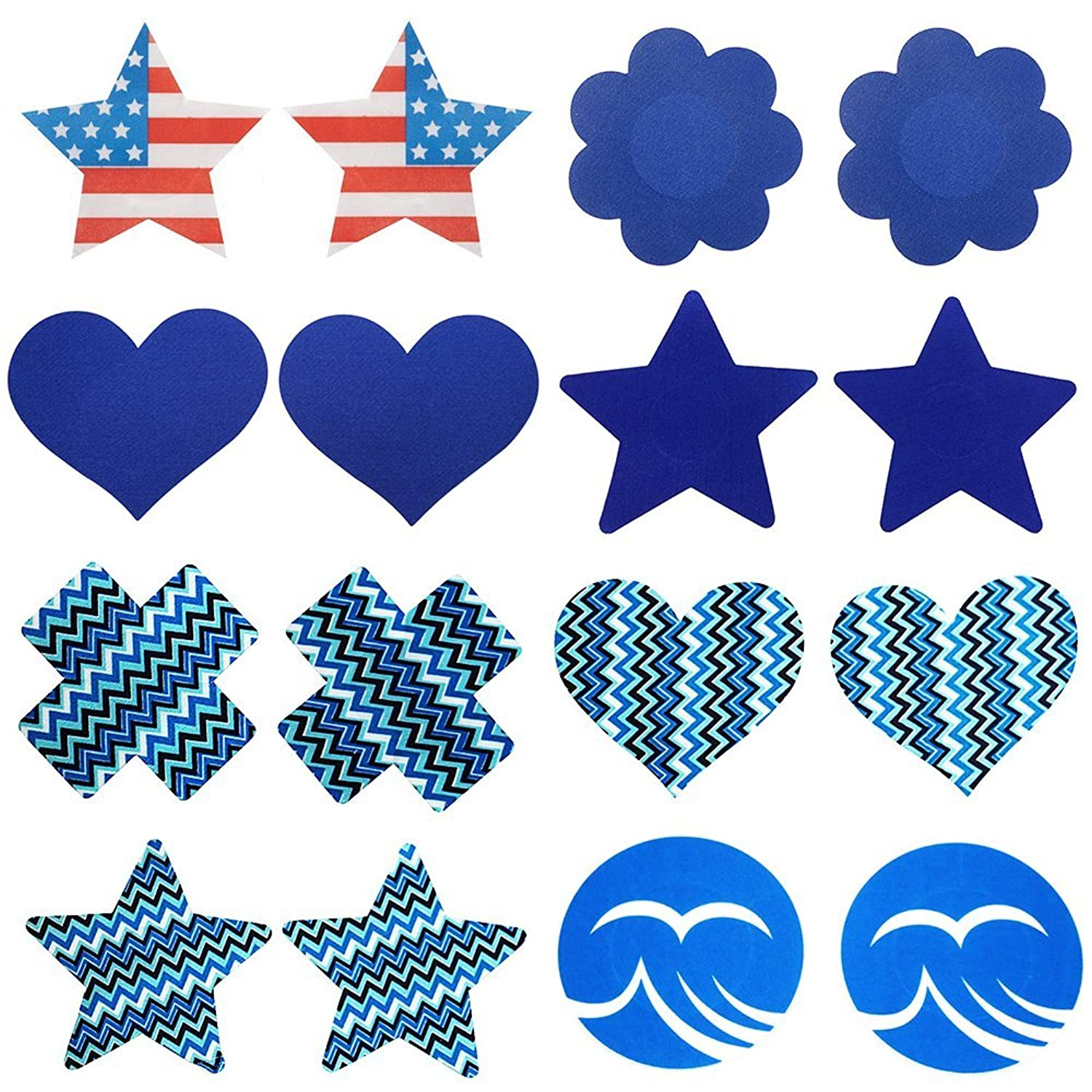 8 Pairs Women Breast Petals Sexy Disposable Pasties Nipple Covers Bra Pad