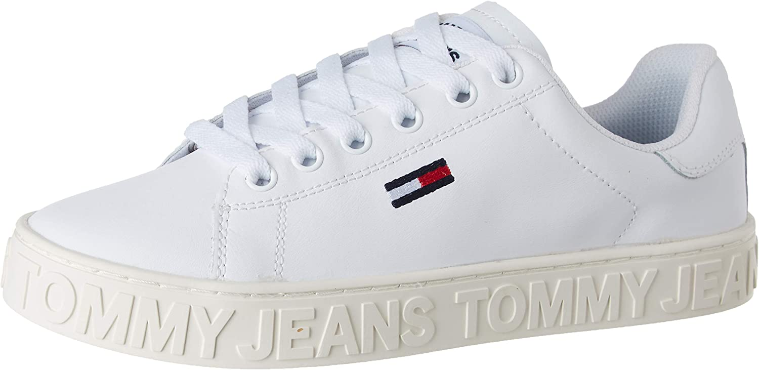 Tommy Hilfiger Cool Tommy Jeans Sneaker, Zapatillas para Mujer