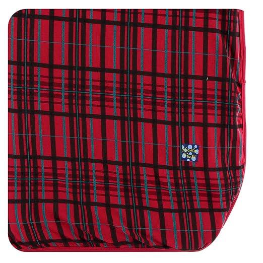 865ec2edb7 Amazon.com  Kickee Pants Holiday Throw Blanket - Christmas Plaid ...