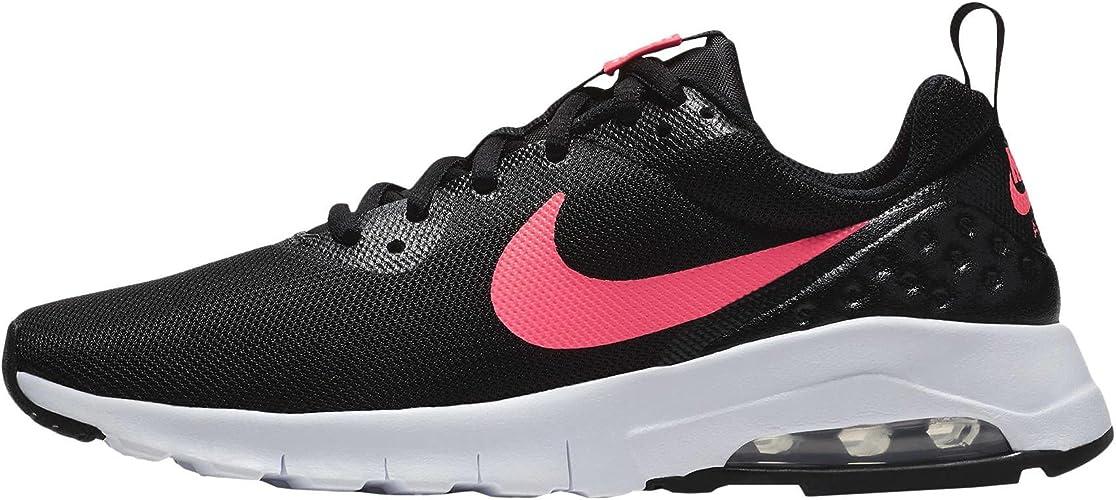 Nike Air MAX Motion LW (GS), Zapatillas de Trail Running para Niñas, Negro (Black/Racer Pink/White 001), 35.5 EU: Amazon.es: Zapatos y complementos