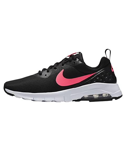 Nike W Air Max Motion LW Eng, Zapatillas para Mujer, Negro (Black/Black/White/Racer Pink), 40 EU