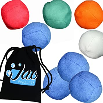 5 x Uglies Juggling Balls Advanced Technical Russian Juggling Ball// Beanbag