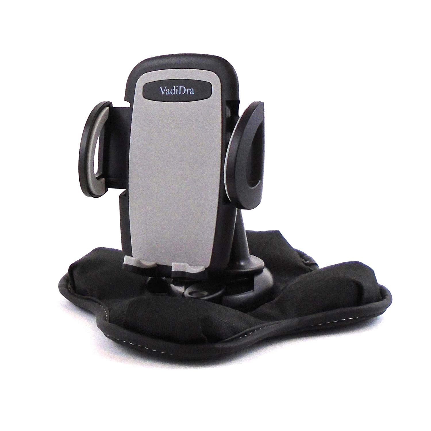 Portable Dashboard Nonslip Beanbag Friction Mount with Cell Phone Holder