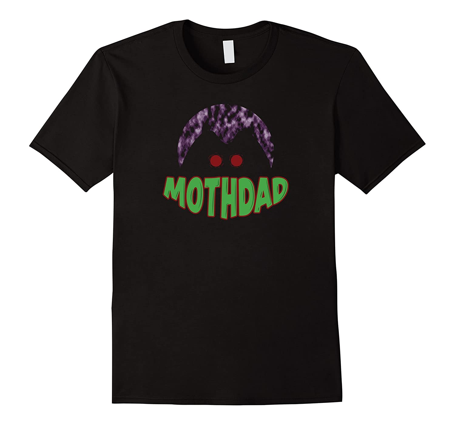 Mens Mothman Mothdad Dad T-Shirt-Art