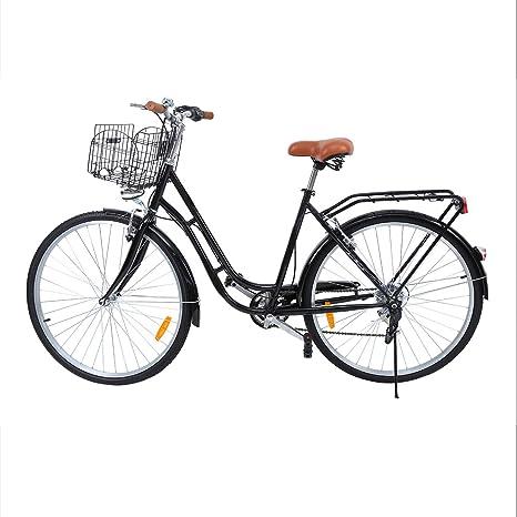 Ridgeyard 28 Bici Da Città Donna Uomo Bicicletta Bici Citybike 7