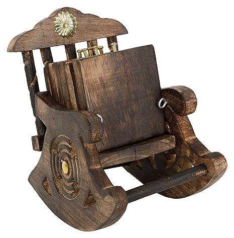 Fine Amazon Com Beautiful Decorative Miniature Rocking Chair Squirreltailoven Fun Painted Chair Ideas Images Squirreltailovenorg