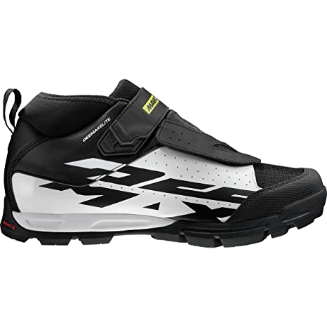 Mavic Deemax Elite - Zapatillas - blanco/negro Talla 45 1/3 2017
