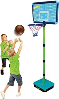 Generic Asketball Por Kids - Canestro da basket regolabile per bambini, con base per basamento