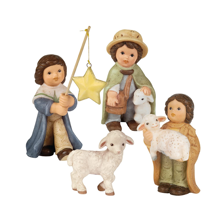 Amazon.de: Goebel Nina & Marco Weihnachten Midi - Krippe Sternsinger ...