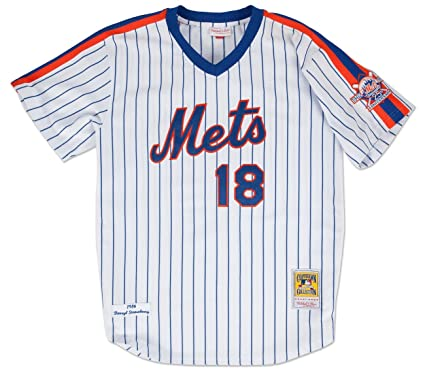 32dca4c99 New York Mets Authentic 1986 Darryl Strawberry Home Jersey By Mitchell &  Ness 36