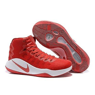online store 3bbb6 bf333 Amazon.com   NIKE Men s Hyperdunk 2016 TB Basketball Shoes Red 844368 662  Size 11.5   Basketball
