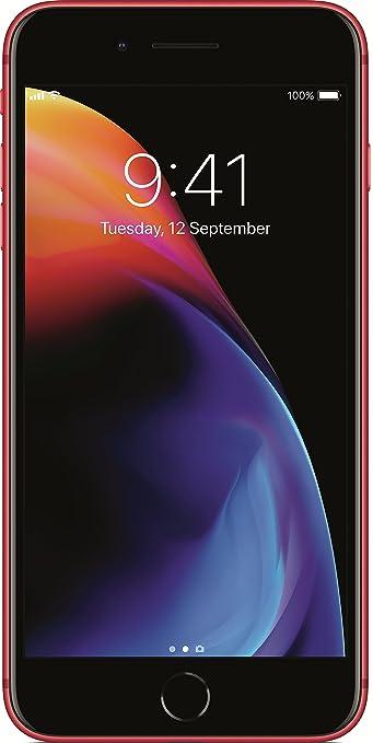 Apple iPhone 8 Plus  Red, 64  GB