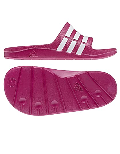 brand new 69a17 d32fd Adidas - Duramo Slide K - Color Pink - Size 5.5US