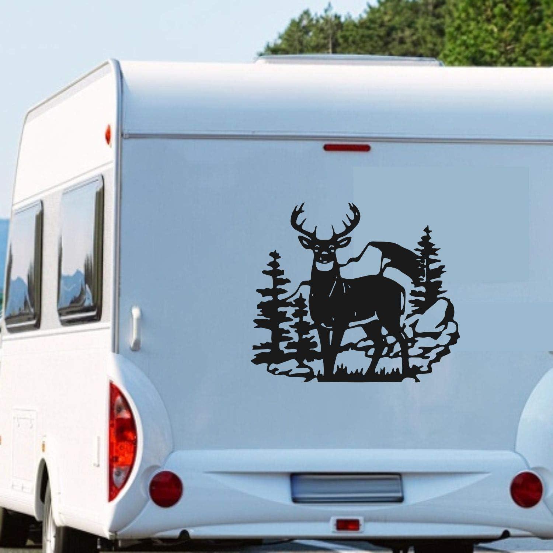 Pegatina Promotion Wohnmobil Wohnwagen Aufkleber Hirsch im