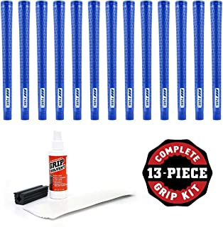 product image for Pure Grips Pro Grip Kit with Tape, Solvent and Vise Clamp (13-Piece), Undersize, Blue
