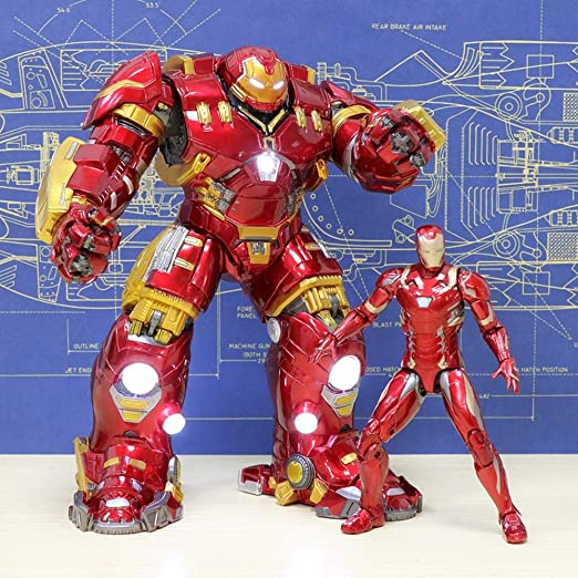 Iron Man Hulkbuster Model Avengers Figura De Acción Muñeca ...
