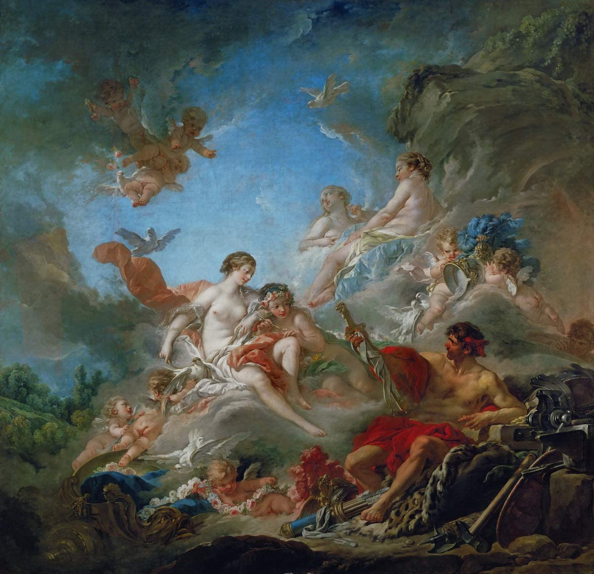 Berkin Arts Francois Boucher Some reservation Giclee Max 81% OFF Paint Canvas-Famous Print On