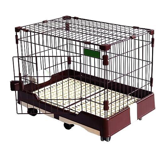Chun Li Jaula del animal doméstico, perro jaula for gatos jaula ...