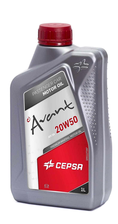 CEPSA 512614188 Mineral Aceite de Motor, 1 litro: Amazon.es: Coche ...