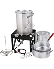 Amazon.com: Fryers - Grills & Outdoor Cooking: Patio, Lawn