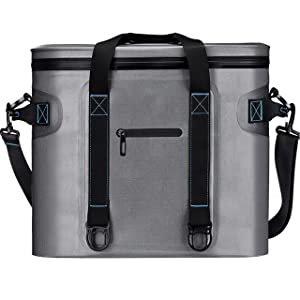 Homitt 30 Can Soft Pack Cooler Insulated Soft Sided Cooler