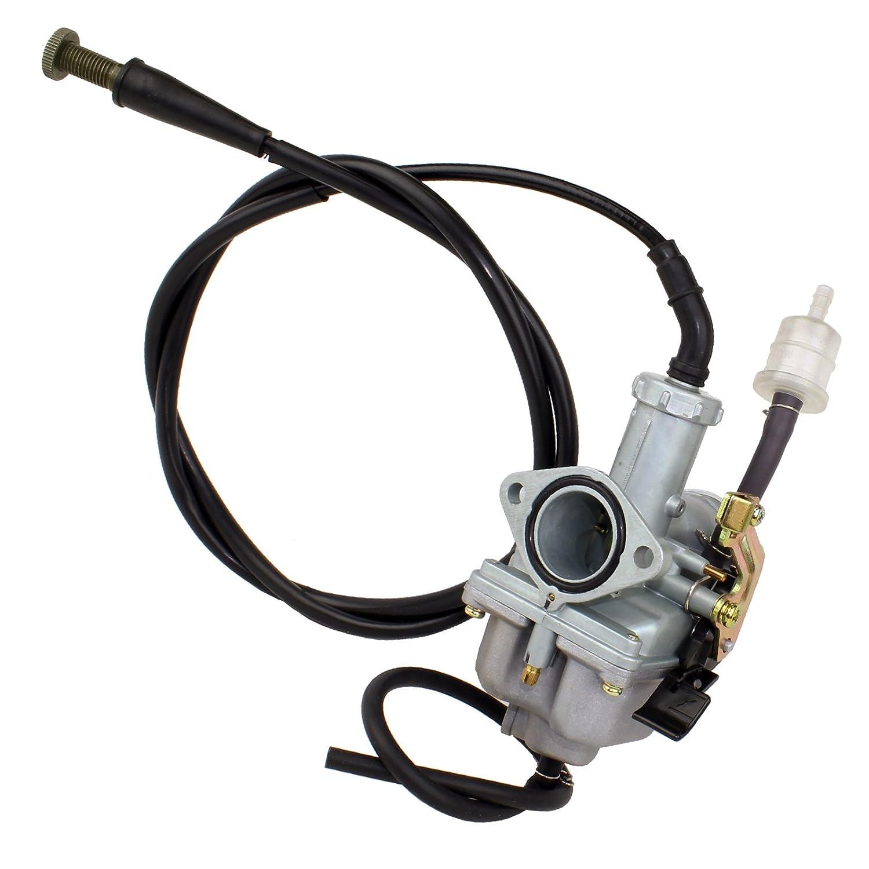CALTRIC Carburetor FITS HONDA TRX250EX TRX 250EX SPORTRAX 250 2001-2005 w/Throttle Cable