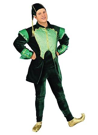 chiber Disfraces Disfraz Elfo Verde Deluxe: Amazon.es: Juguetes y ...