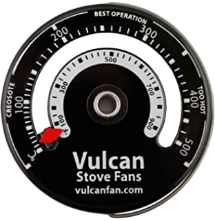 stove thermometer for stoves flues or stovepipes