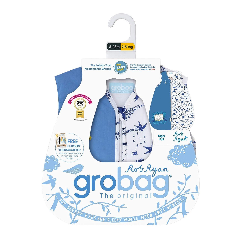 1.0 Tog 6-18 Months The Gro Company Rob Ryan Nightfall Grobag Baby Sleeping Bag