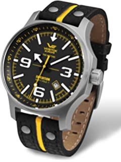 Vostok-Europe Mens NH35A/5655196 Japanese Automatic Quick Set Date Watch