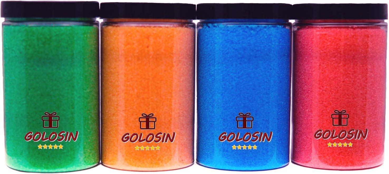 Pack de 4 sabores para máquina de Algodón de azúcar (4 x 350gr)