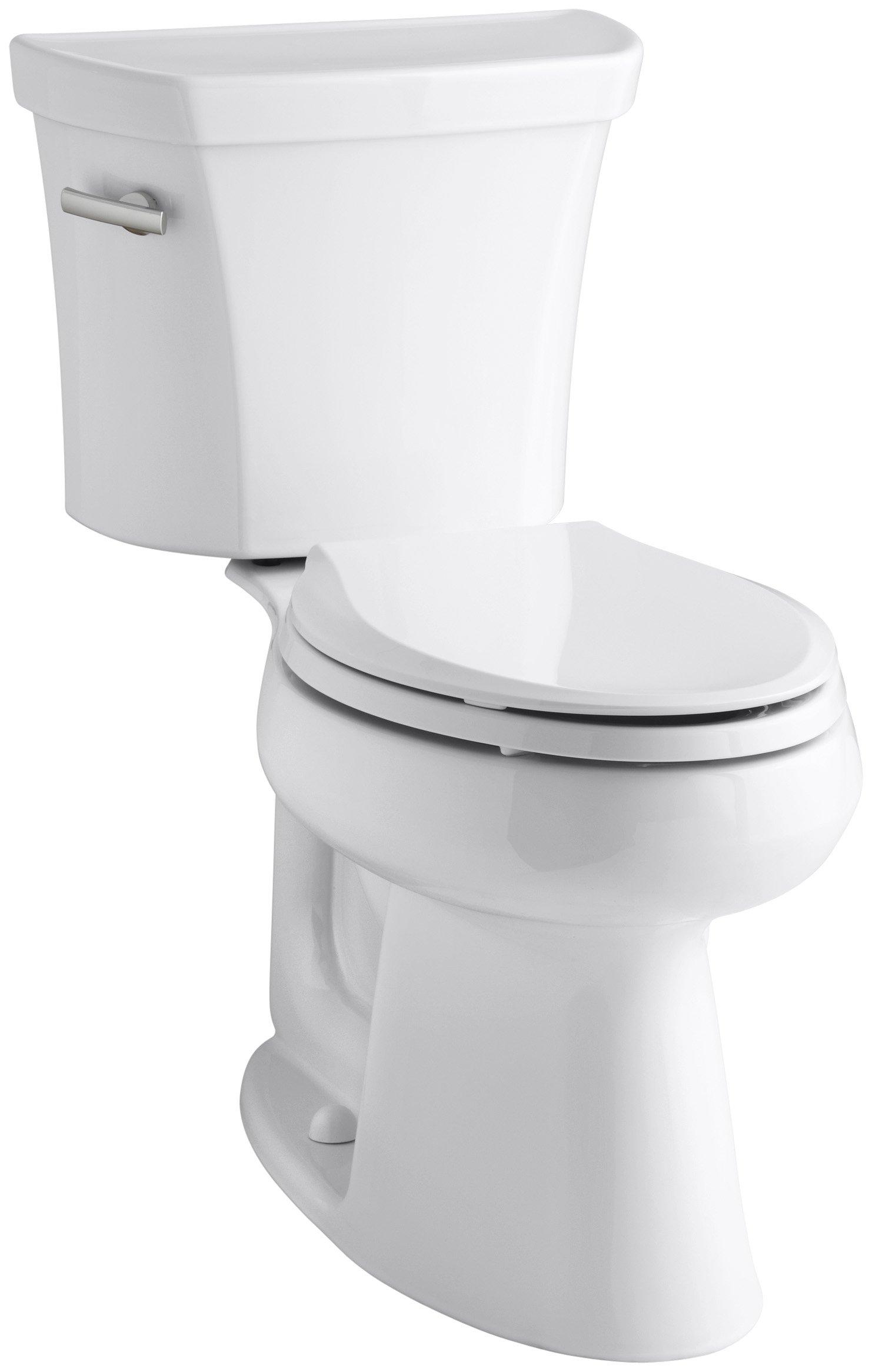 Kohler K-3979-0 Highline Comfort Height 1.6 gpf Toilet, White by Kohler