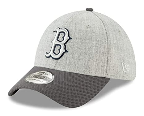 pretty nice 6e0b8 c366b Image Unavailable. Image not available for. Color  New Era Boston Red Sox  MLB 39THIRTY Change Up Redux Flex Fit Hat - Gray