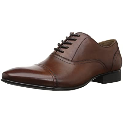 ALDO Men's NALESSI Oxford, Cognac, 10 D US | Oxfords
