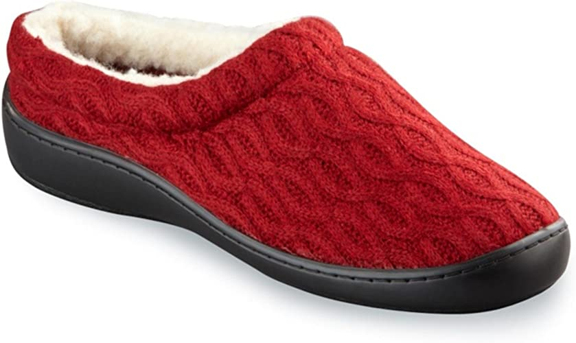 Plantar Fasciitis Slippers Red Size