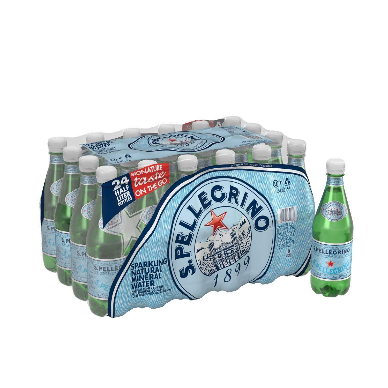 San Pellegrino Sparkling Water (.5L, 24 ct.)