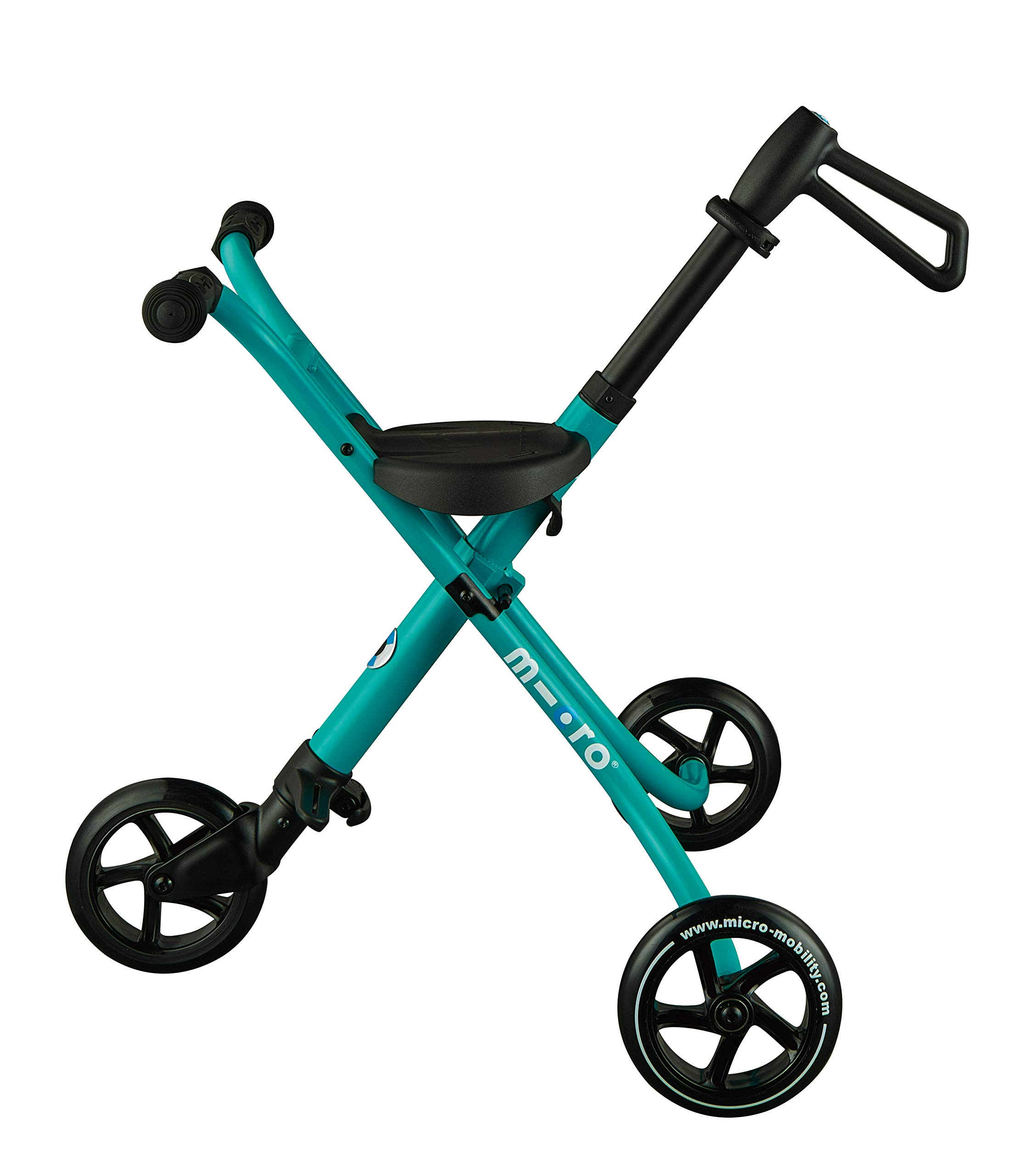 Micro Trike XL Ride-on Travel for Children Ages 18 Months + (Aqua)